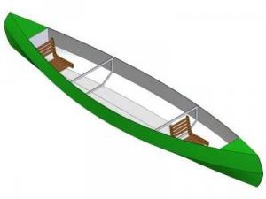 15ft Daytrip canoe - Boat plans - Pictures