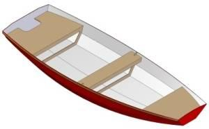 10ft Dinghy - Boat plans - Pictures