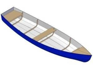 15ft Dinghy - Boat plans - Pictures