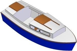 17ft Motorboat mark V - Boat plans - Pictures