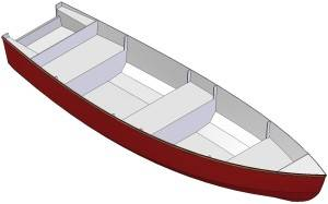 18ft Dinghy - Boat plans - Pictures