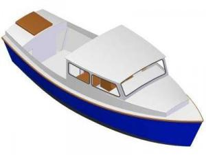 27ft Motorboat mark V - Boat plans - Pictures