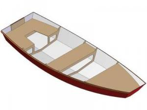 11ft Dinghy-Vee - Boat plans - Pictures