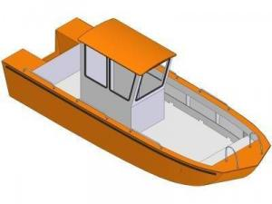 21ft Garvey flex - Boat plans - Pictures