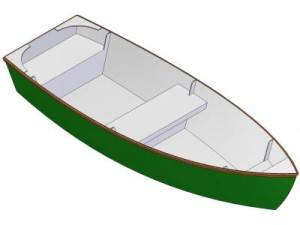 11ft J - Skiff - Boat plans - Pictures