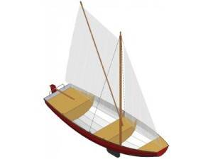 Norwegian pram - Boatplans.dk - Online free and inexpensive boat plans ...