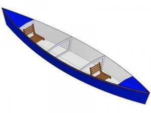 16ft Pirogue - Boat plans - Pictures