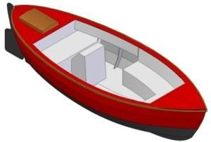 17ft Picnic barge - Boat plans - Pictures