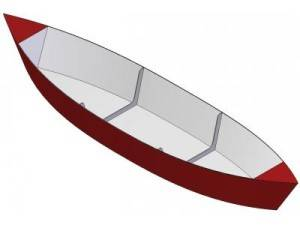 12ft Pirogue canoe - Boat plans - Pictures