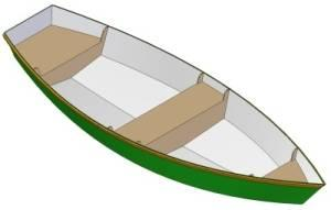 12ft Row boat - Boat plans - Pictures