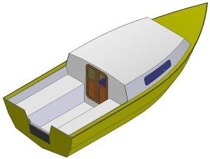 16' Sea power - Boatplans.dk - Online free and inexpensive boat plans - Download boat plans ...