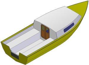 18ft Sea power - Boat plans - Pictures