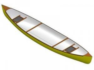 16ft Strip plank canoe - Boat plans - Pictures