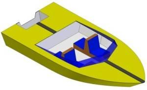 16ft Speedboat - Boat plans - Pictures