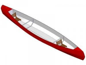 17ft Touring canoe - Boat plans - Pictures