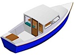 Boat plans for 27ft Motorboat mark V