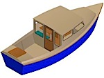Boat plans for 27ft Motorboat