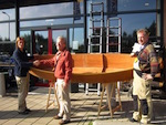 Boat plans for 12ft Pirogue canoe