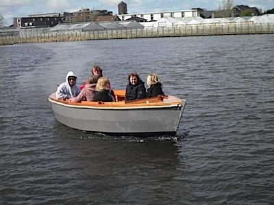 17ft picnic barge for Picnic boat plans